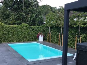 Kunststof zwembad
